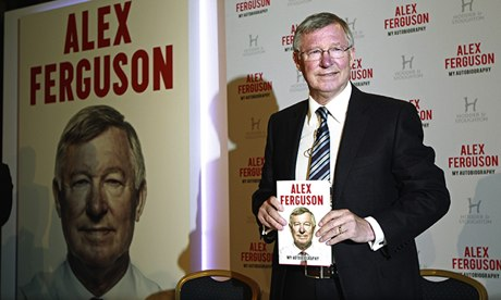 Sir Alex Ferguson memoir on course to top Christmas books chart
