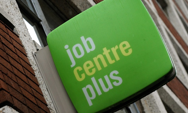 The Job Centre Plus offices in Derby city centre.