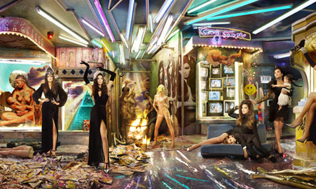 Kardashian Christmas cards