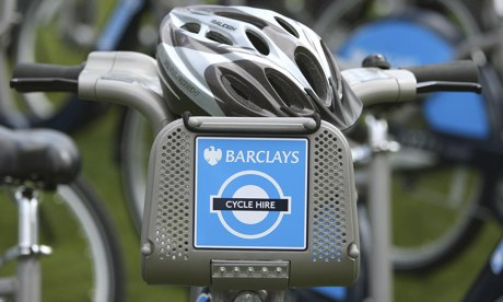 Boris Johnson Barclays Cycle Hire
