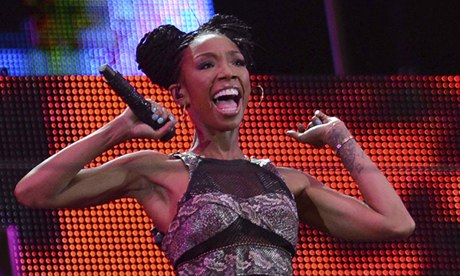 Brandy performing in South Africa 2013.