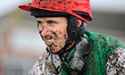 Trail Racing at Exeter2: A muddy Paddy Brennan