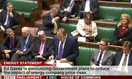 Ed Davey at the despatch box