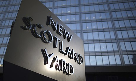 Metropolitan police wants to argue in secret to obtain access to reporters' notebooks.