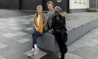 Laure Prouvost (left) with David Shrigley and Lynette Yiadom-Boakye