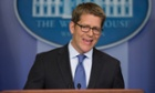 White House press secretary Jay Carney Obamacare