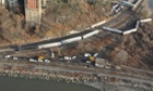 New York derailed train