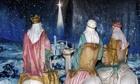 Nativity scene Balboa Park San Diego California