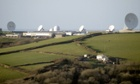 Morwenstow satellite ground station near Bude in Cornwall. According to the latest documents leaked by whistleblower Edward Snowden, the GCHQ listening post was involved in spying programmes targeting aid agencies, the German government and the head of the EU.