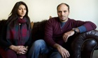 Sara and Shah Khan, sister and brother of Dr Abbas Khan, the British doctor who died in Syria