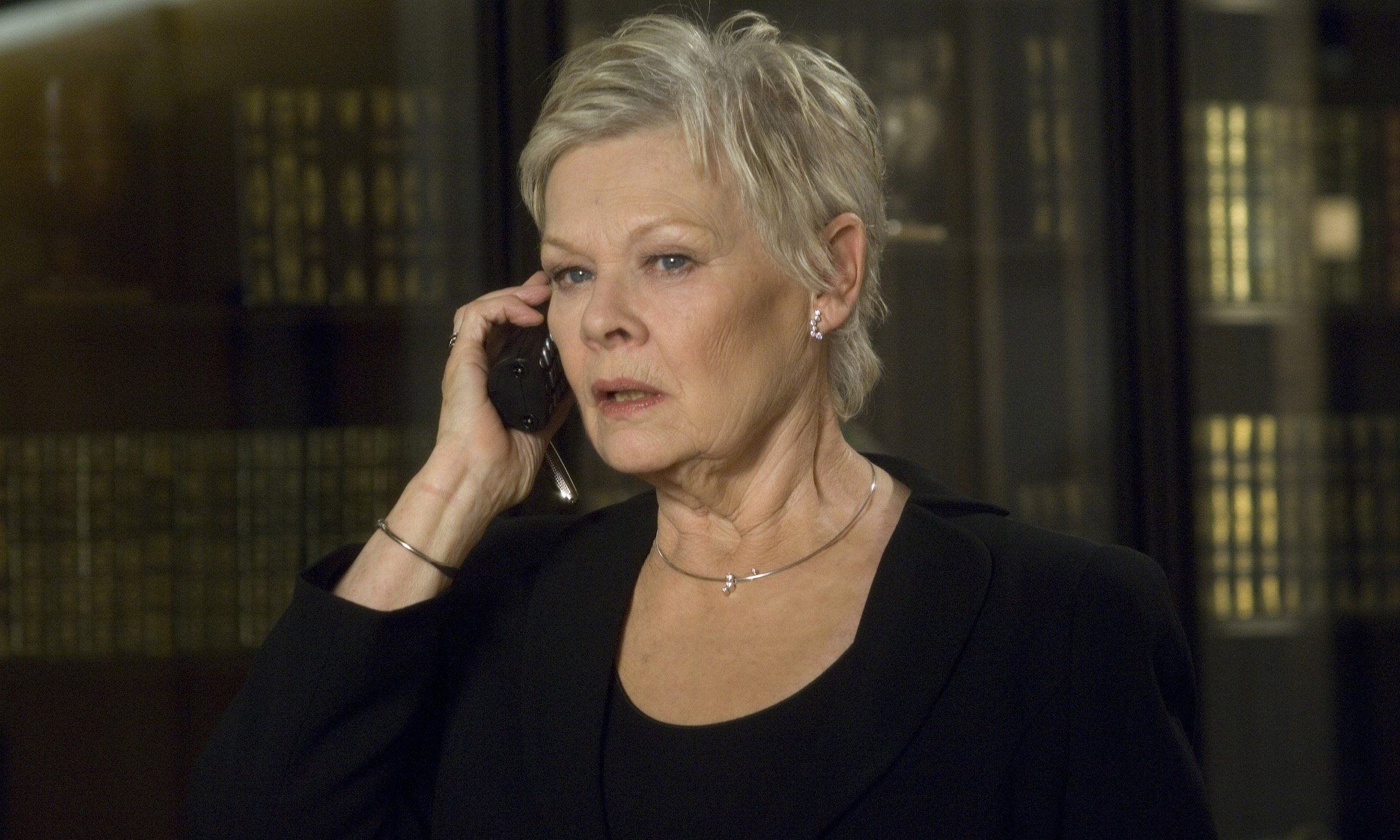 Judi Dench: I was late for lunch with real-life M because ...
