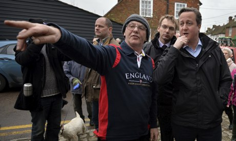 David Cameron in Yalding