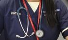 A&E doctor