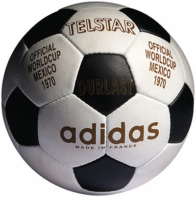 old balls: 1970 Telstar Ball