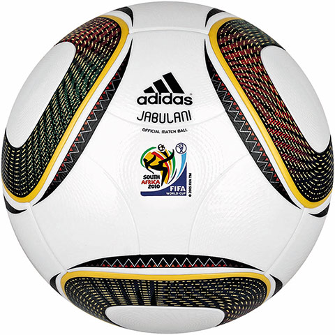 old balls: 2010 Jabulani