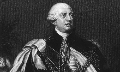 King George III … 'The Royal Marriages Act of 1772 was Farmer George's attempt to inculcate Protestant family values.' Photograph: Hulton Archive