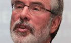 Gerry Adams said Sinn Féin had been prepared to go forward with the Haass