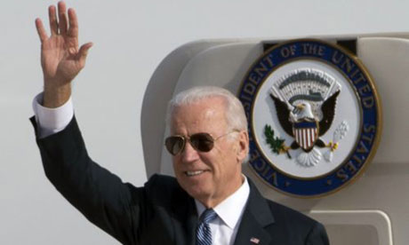 Joe Biden has arrived in China for talks