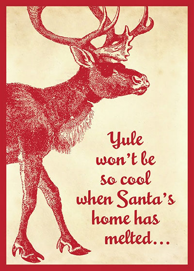 Greenpeace: Save Santas Home Christmas Cards