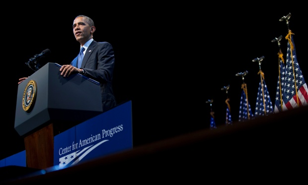 Obama: income inequality is 'defining challenge of our time' - live...
