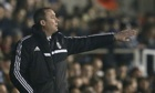 Rene Meulensteen watches his Fulham side