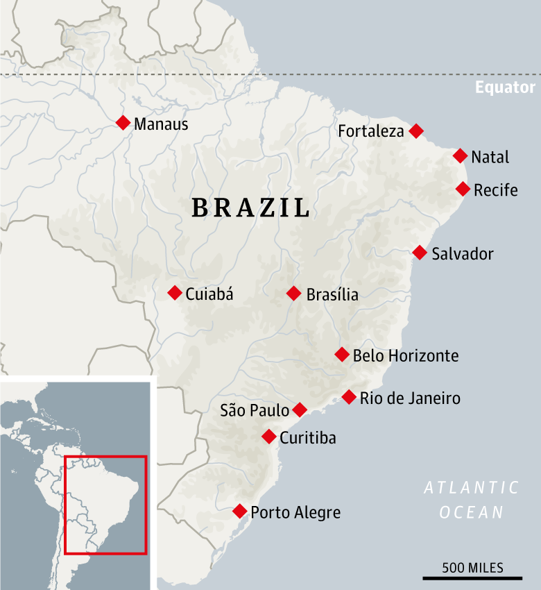 The complete travel guide to Brazil's World Cup cities | Travel ...