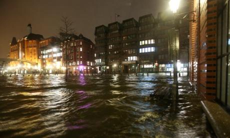 Amburgo inondazioni