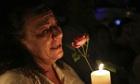 Nelson Mandela mourner