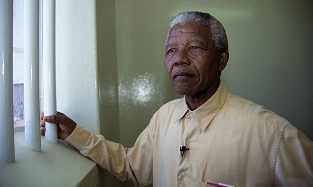 sections parallels nelson mandela walked prison