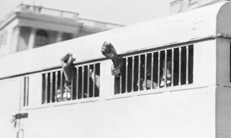 Eight men, including Nelson Mandela, sentenced to life imprisonment in the Rivonia trial