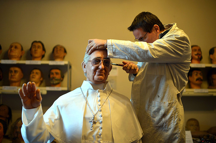 20 Photos: Wax Pope Francis