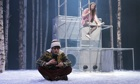 'Explosive moments of high drama': Martin Quinn and Rebecca Benson  in Let the Right One in  at the