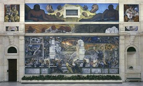 Detroit Art Museum Diego Rivera