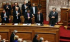 Greek parliament approves budget projecting sliver of growth