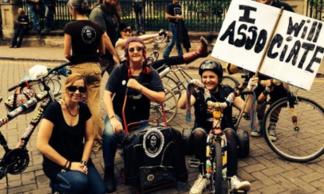 Why I started a Knit Your Revolt Tricycle Gang in Queensland