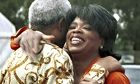 Barack Obama Oprah Bono South Africa pay tribute Mandela