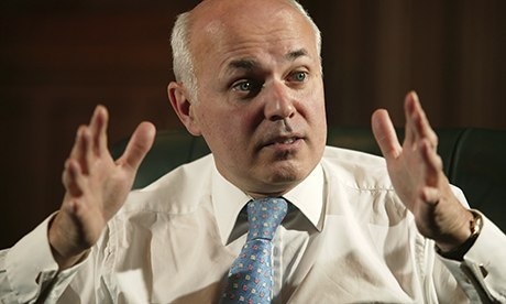 Iain Duncan Smith confronts claims DWP staff targets stop benefits