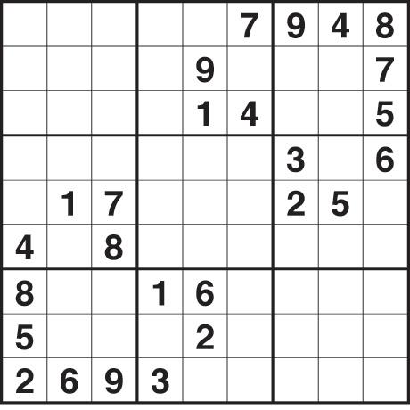 Sudoku 2,421