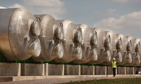 UK's first large-scale desalination plant