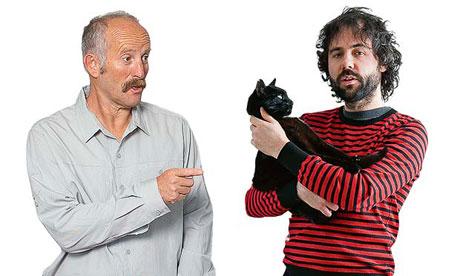 Gareth Morgan (left) and Tom Cox