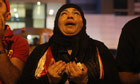 Externalised: an Egyptian woman mourns.