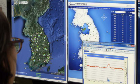 Nuclear radiation monitoring in South Korea.