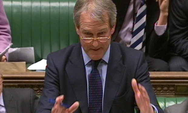Owen Paterson, the environment secretary, is defending his handling of the horsemeat scandal in a Commons debate.