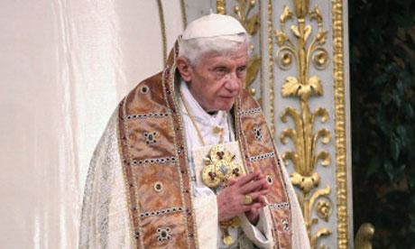 Pope benedict 16th?