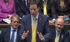 Nick Clegg deputy prime minister commons