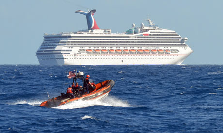 Cruise Ship Passengers List Power And Toilet Failures On