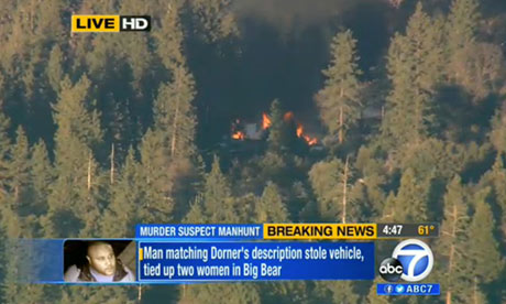 > Feb 13 - Did the police start fire that killed Christopher Dorner? - Photo posted in Non-headline articles, author commentary, documentaries, and more | Sign in and leave a comment below!