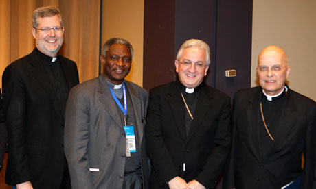 Peter Turkson, second left