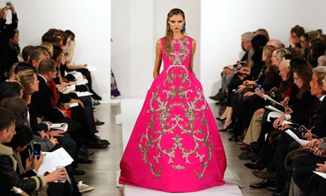 Oscar de la Renta at New York fashion week