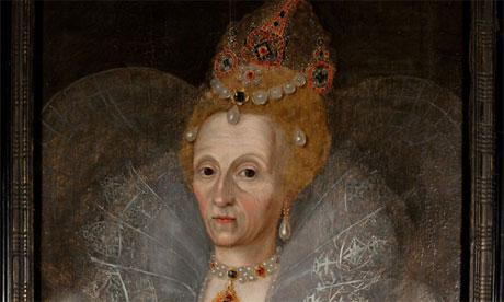 Portrait of Elizabeth I, studio of Marcus Gheeraerts